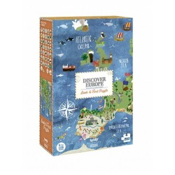 Discover Europe Puzzle 200p