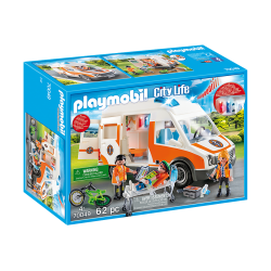 Playmobil Ambulancia Con Luces